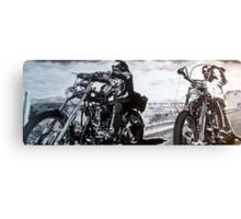 Born to ride by db artstudio Canvas Print