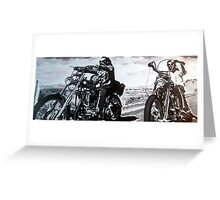 Born to ride by db artstudio Greeting Card