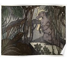 Maurice de Becque Livre de la jungle, p161 Poster