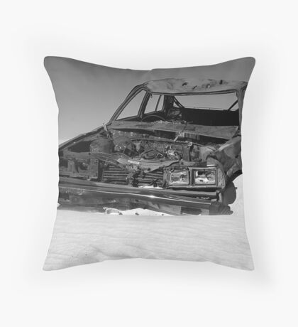 Victim Of Time - Wedge Island Community Throw Pillow