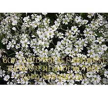 jewish mothers quote mother's day card Photographic Print