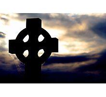 Tombstone Sunset Photographic Print