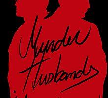 Murder Husbands [Red/Black] by tirmedesign