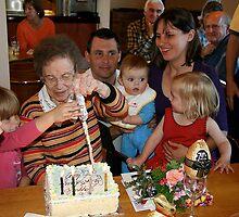 90th birthday celebration by Maggie Hegarty