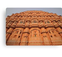 Palace of the Winds, Pink City, Jaipur Canvas Print
