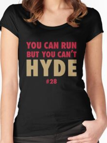 Carlos HYDE Women's Fitted Scoop T-Shirt