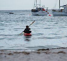 kayaking by Mikayla House
