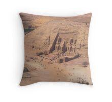 Abu Simbel - EGYPT Throw Pillow