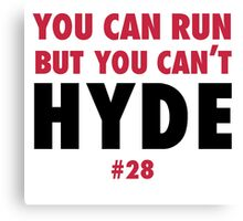 Carlos HYDE w Canvas Print