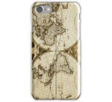 World Map Vintage Iphone Case iPhone Case/Skin