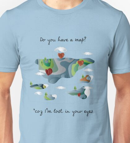 do you have a map? T-Shirt