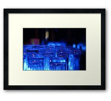 Blue Glass Framed Print