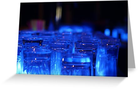 Blue Glass by WET-photo
