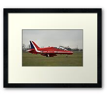 Red Arrows Hawk T1 Framed Print