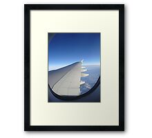 """""""On the wings of a modern day angel"""" Framed Print"""