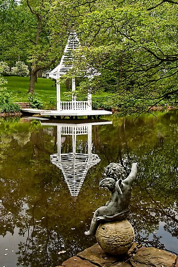 Hortulus Farm Gazebo by Marilyn Cornwell