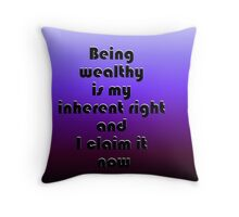 Prosperity Throw Pillow