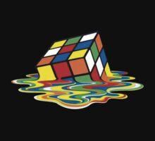 Melting Rubik's Cube by youssk