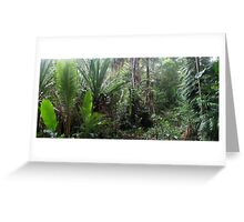Jungle at the Sago patch Greeting Card