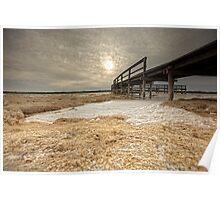 The Foam Phenomenon - Lake Clifton WA Poster