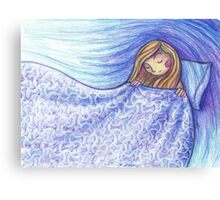 Under the covers Canvas Print