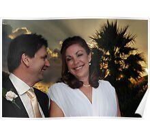 The Wedding of Sally & Ian Poster