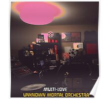 UMO Unknown Mortal Orchestra Multi Love Poster