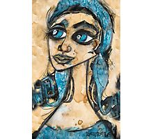 MY BLUE BELLE Photographic Print