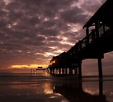 Sunset at Pier 60 by JimSanders
