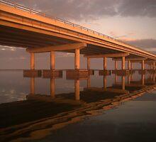 Sunrise at Bayway Bridge by JimSanders