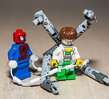 Spiderman and Dr. Otto Octavius by garykaz