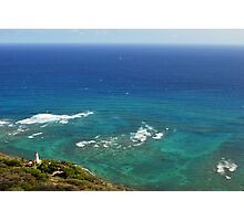 Diamond Head Lighthouse Photographic Print