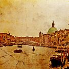 Grand Canal - Venice 1968 by pennyswork