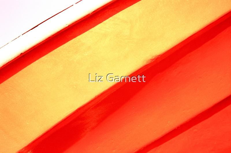 Whitstable Beach Abstract - UK580/15 - www.lizgarnett.com by Liz Garnett