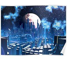 City of Elevatia - Planet Kiros Poster