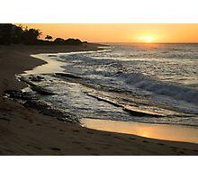 Tropical Island Sunrise Photographic Print