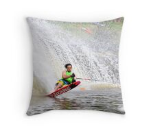 Moomba Masters Water Skiing Throw Pillow