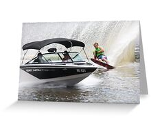 Moomba Masters Water Skiing Greeting Card