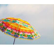Un verano naranja Photographic Print
