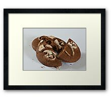 Broken Cookies Framed Print