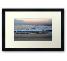 Satin Sunrise--Cottesloe Beach Framed Print
