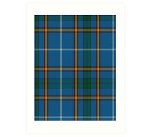 00624 Bains of Caithness Clan/Family Tartan  Art Print