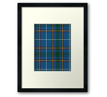 00624 Bains of Caithness Clan/Family Tartan  Framed Print
