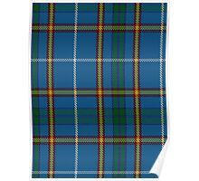 00624 Bains of Caithness Clan/Family Tartan  Poster