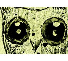 Ink Owl Photographic Print
