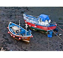 Flora Jane - Staithes Harbour. Photographic Print