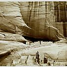 homage to a master ~ ansel adams ~ canyon de chelly by ragman