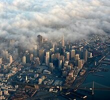 San Francisco Fog Monster by Mike Hendren