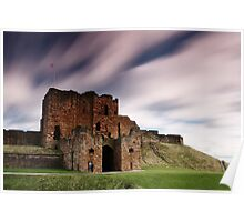 Tynemouth Priory in the Wind Poster