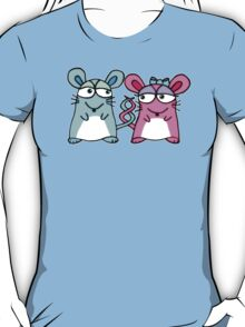 Mice In Love - A design by Perrin T-Shirt
